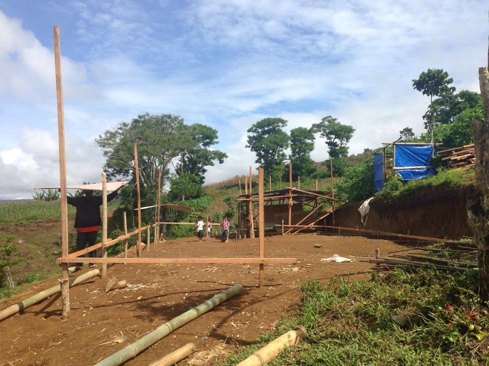August 2014 - Construction has started...